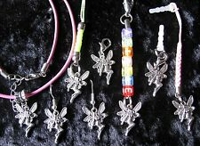 Pixie FAIRY - Name Zip Tag - Earrings - Necklace - Mobile Charm OR Clip-On Charm