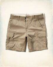 Hollister Men Zipper Fly Classic Cargo shorts size 32 , 34 ,36 , 38 new with tag