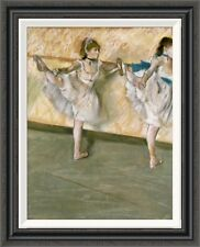 Global Gallery 'Dancers at the Bar' by Edgar Degas Framed Painting Print
