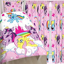 My Little Pony Equestria Single Duvet & Matching Curtains 54
