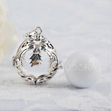 Harmony Bell Balls Silver Plated Pregnancy Musical Sounds Necklace Pendants