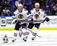 Jonathan Toews & Patrick Kane Chicago Blackhawks 2015 Stanley Cup Photo SD085