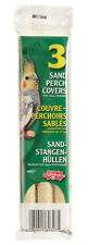 Hagen Bird Cage Sand Perch Covers for Parakeets, Cockatiels, Small Parrots