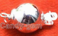 SALE Big 10mm round ball one string Sterling Silver(S925)  Clasp-gp22 Free ship