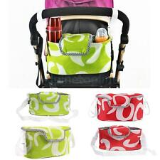 Pram/Pushchair/Stroller/Buggy Cup/Bottle/Drink/Food Holder Storage Bag Organiser