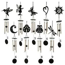 Metal Oriental Lucky Tube Bell Decor Wind Chime Garden Outdoor Ornament 9 Types