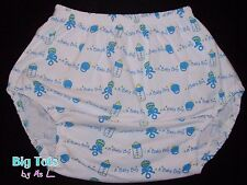 Adult Baby A Baby Boy knit diaper pants *Big Tots Exclusive**