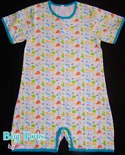 Adult Baby Jungle Animals romper,snap front snap crotch *Big Tots by MsL*
