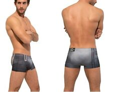 CROOTA Mens Low Rise Seamless Cut Boxer Trunks:  All sizes S / M / L / XL