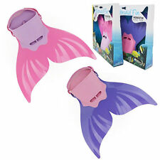 1PC Mermaid Tails Fin Monofin Mermaid fits Child/Youth Adjustable Velcro New
