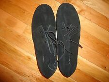 Airwalk Mens Suede Leather Shoes Casual Lace Up Shoes Black Sz 8, 12 Free Ship