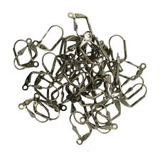 Hot 50pcs Wholesale French Shell Lever Back Earring Wire Coil Finding Jewelry