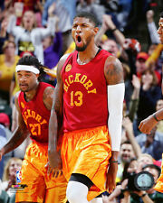 Paul George Indiana Pacers 2015-2016 NBA Action Photo SN151 (Select Size)