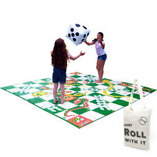 Garden Games Giant Snakes and Ladders Outdoor Toy Party Family Fun 300cm x 300cm