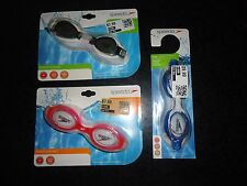 Speedo Kids Recreational Swimmers Goggles UV Latex Free Speed Fit Age 3-8 New