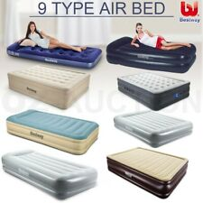 Bestway Multi-size Inflatable Mattress Air Bed Flocked Camping Sleeping Mat Pump