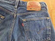 Levis 501 Denim Jeans Red Tab, Button Fly W29 L32