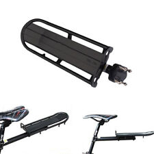 Mountain Bike Cycling Bicycle Rear Carrier Post Luggage Rack Seat Black
