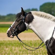 Synthetic Bridle Stainless Steel Horse Riding Equestrian Accessories
