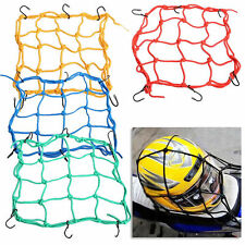 New Motorbike Motorcycle Cargo 6 Hooks Hold Down Net Bungee