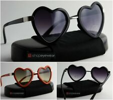 Heart Shaped Sunglasses Lolita Vintage Retro Women's Fashion Corazon