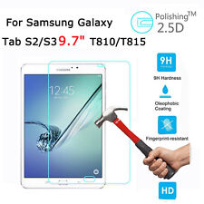 "Tempered Glass/Clear/Matte Screen Protector For Samsung Galaxy Tab S2 8.0"" Lot"