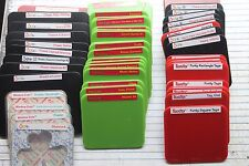 Sizzix/Ellison Clearlit/Sizzlit thin small & medium dies many to choose from [C]