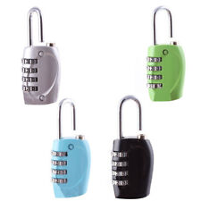 Jewelry Luggage Boxes 4 Digit 0-9 Number Resettable Combination Lock Padlock