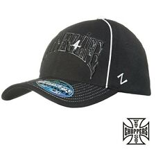 West Coast Choppers Cap Choppers 4 Life Round Bill Has Hat Biker Custom NEW