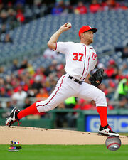 Stephen Strasburg Washington Nationals 2015 MLB Action Photo RW078 (Select Size)