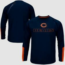 Chicago Bears Cutting Through Long Sleeve Cool Base Jersey Shirt Plus Sizes NFL