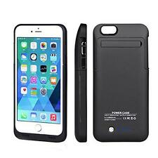 Foldable External Backup Power Bank Charger Battery Case For iPhone 5s 6 Plus
