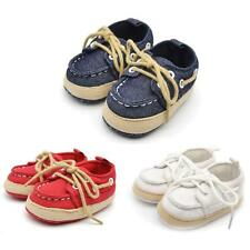 Fashion Baby Infant Kid Boy Girl Soft Sole Sneaker Toddler Denim Shoes
