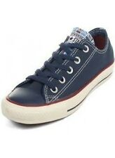 Converse Chuck Taylor All Star Ox Navy Blue Red Striped Tongue 142252F