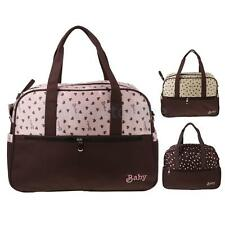 High Quality Women Hearts Printing Multi Function Mummy Package Bag Nappy Bags