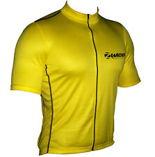 Zimco Cycling Biking Racing Bicycle Short Sleeve Jersey/Shirt Yellow 195
