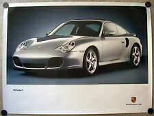 PORSCHE OFFICIAL 911 996 TURBO S OFFICIAL SHOWROOM POSTER 2005