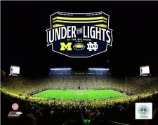 Michigan Wolverines Stadium NCAA Football Action Photo OH109 (Select Size)