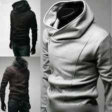 Mens Fashion Slim Fit Top Long Sleeve Designed Hoodies Jackets Coats Outwear