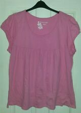 Evans top size 26/28 in pink