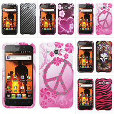For Huawei Mercury Glory M886 Cricket Colorful Design Hard Case Cover