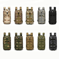 30L Hiking Camping Bag Army Military Tactical Trekking Rucksack Backpack Travel