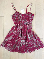 NWT Pins and Needles by Urban Outfitters pink floral dress - size 2 - made well