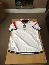 England Home 2003/05 Reversible Shirt, Size Large, Very Good Condition