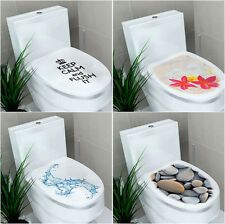 DIY Vinyl Removable Toilet Seats Decor Wall Stickers Home Bathroom Mural Decal