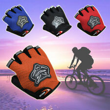 Outdoor Sports Antiskid Gel Half Finger Gloves Racing Mountain Bicycle Cycling