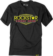 Factory Effex Licensed Rockstar Vegas T-Shirt Black Mens All Sizes
