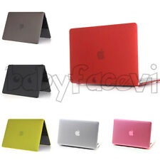 1x Frosted Hard Thin Case Cover Shell Matte for Apple Macbook Air/Pro Retina 13""