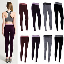 Womens Ladies Sports Gym Yoga Running Fitness Leggings Pants Athletic Clothes
