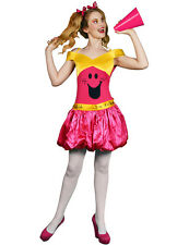 Ladies Little Miss Chatterbox Mr Men Book Outfit Fancy Dress Costume